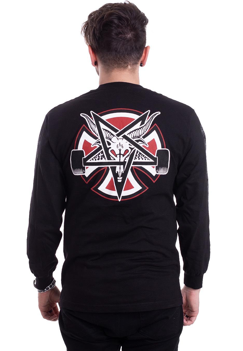 Pentagram Black Thrasher Independent Cross Tshirt X 7zwqHqTY