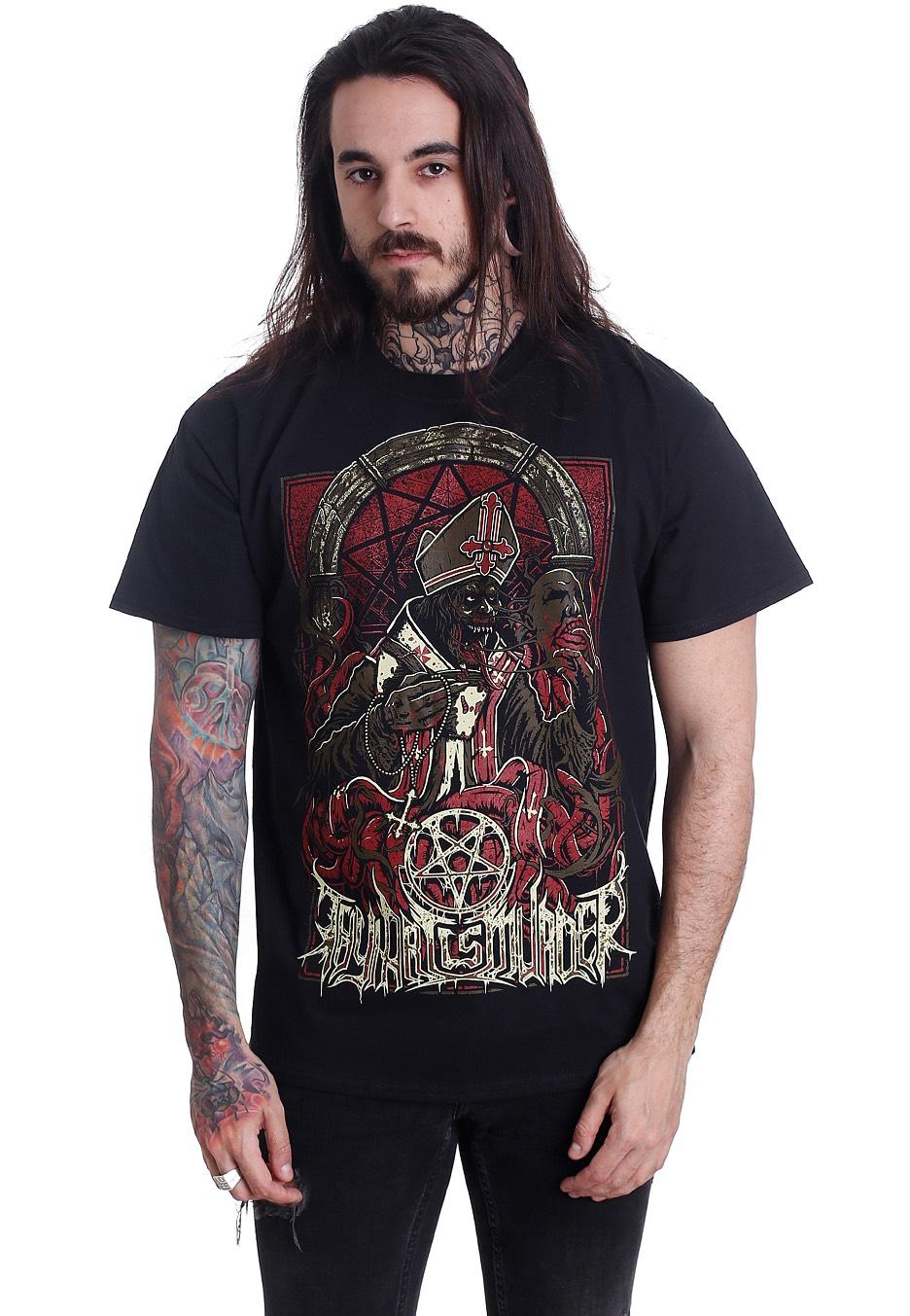 Thy Art Is Murder - Evil Pope - - T-Shirts