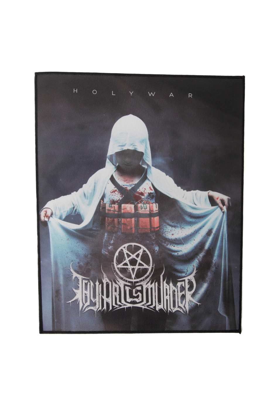 Thy Art Is Murder Holy War Backpatch Impericon Com Us