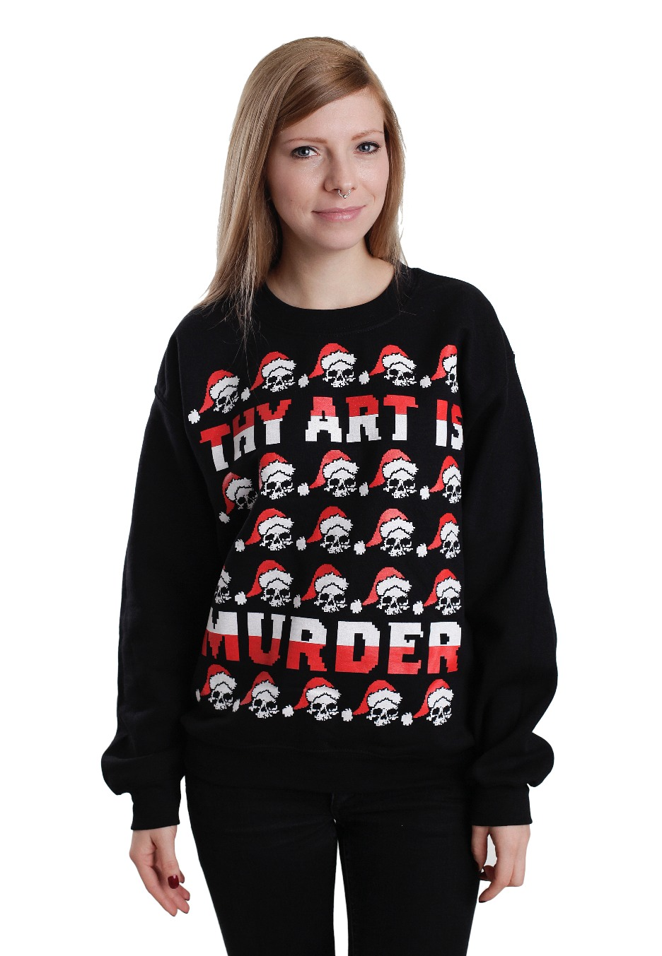 Thy Art Is Murder Limited Xmas Sweater Official Death Metal