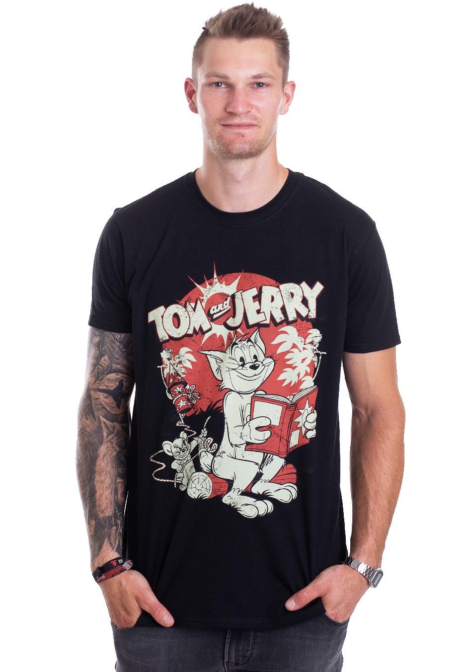 Tom And Jerry - Vintage Comic - T-Shirt - Impericon.com DE