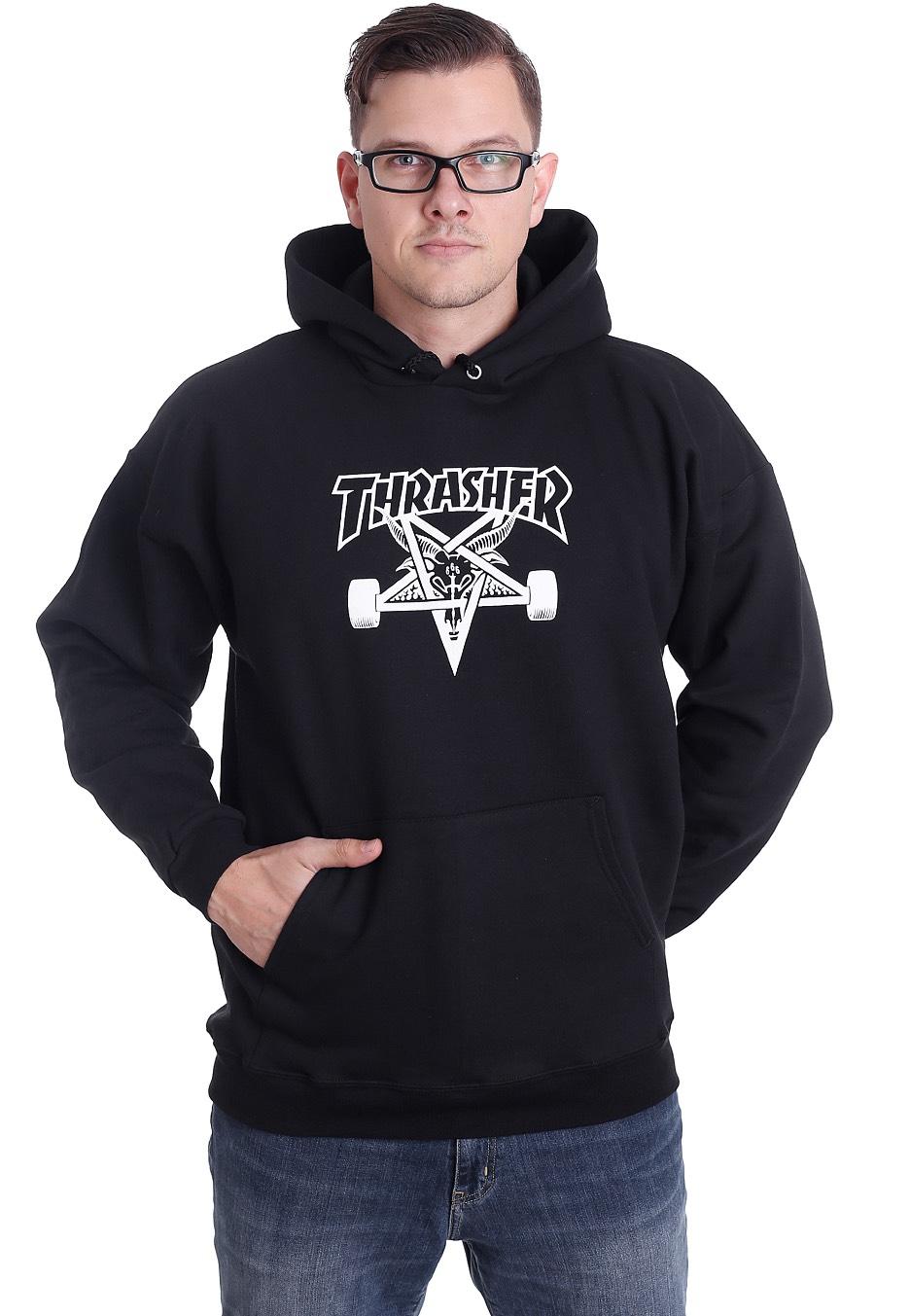 Thrasher - Thrasher Skate Goat - Hoodie - Streetwear Shop - Impericon.com UK f9066adec6d6
