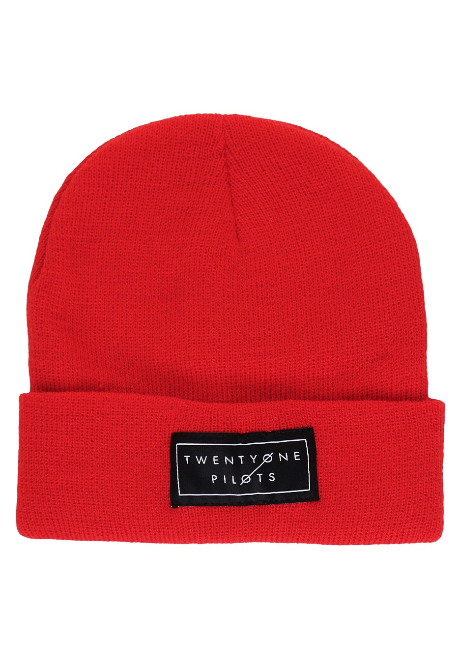 Twenty One Pilots - Logo Red - Beanie - Official Electronic Merchandise  Shop - Impericon.com UK c528d93ca52