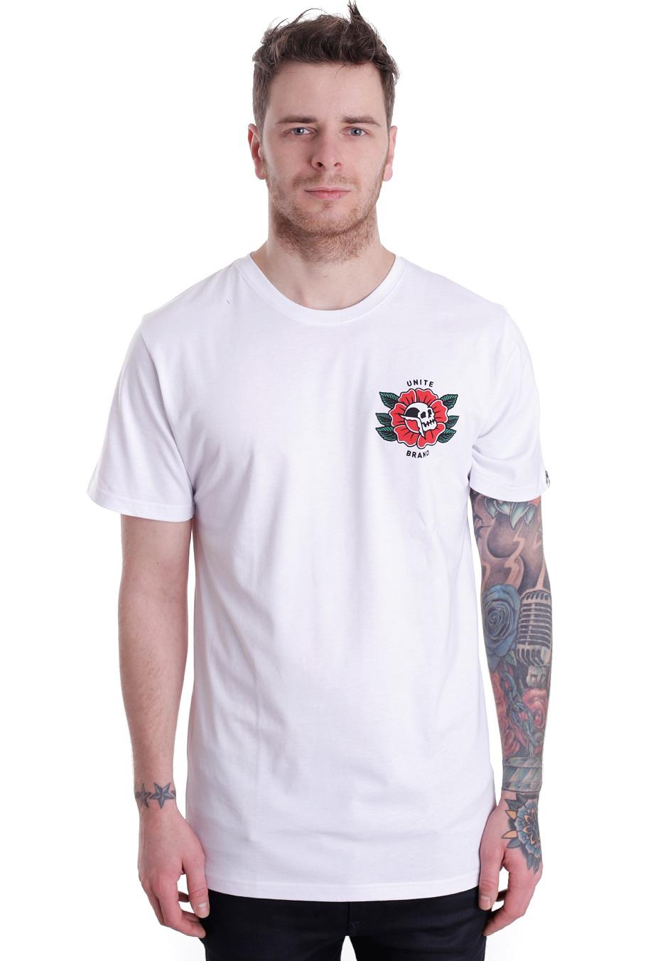 ab5fce59281e Unite Clothing - Dedication White - T-Shirt - Streetwear Shop -  Impericon.com AU