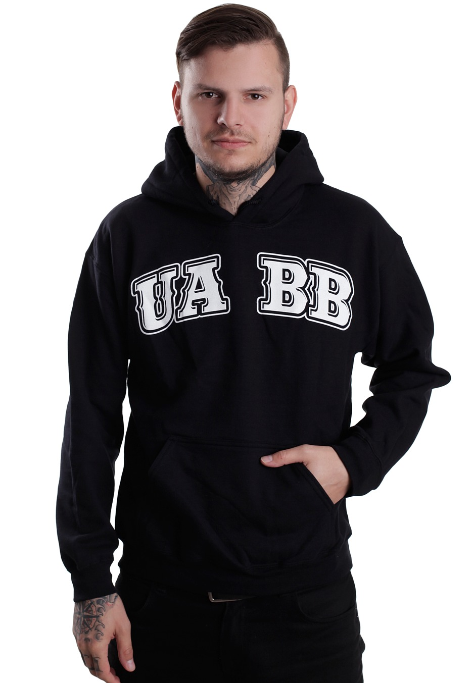 Upon a burning body hoodie