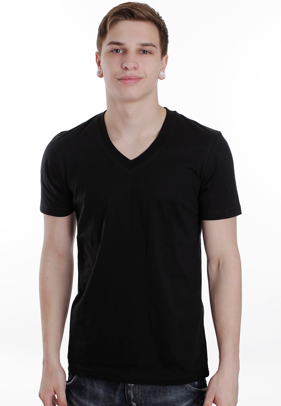 urban classics basic v neck t shirt streetwear shop. Black Bedroom Furniture Sets. Home Design Ideas