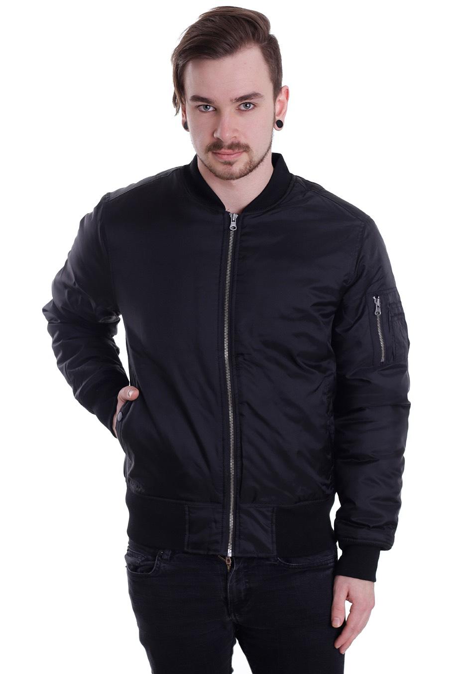 urban classics basic bomber jacket streetwear shop. Black Bedroom Furniture Sets. Home Design Ideas