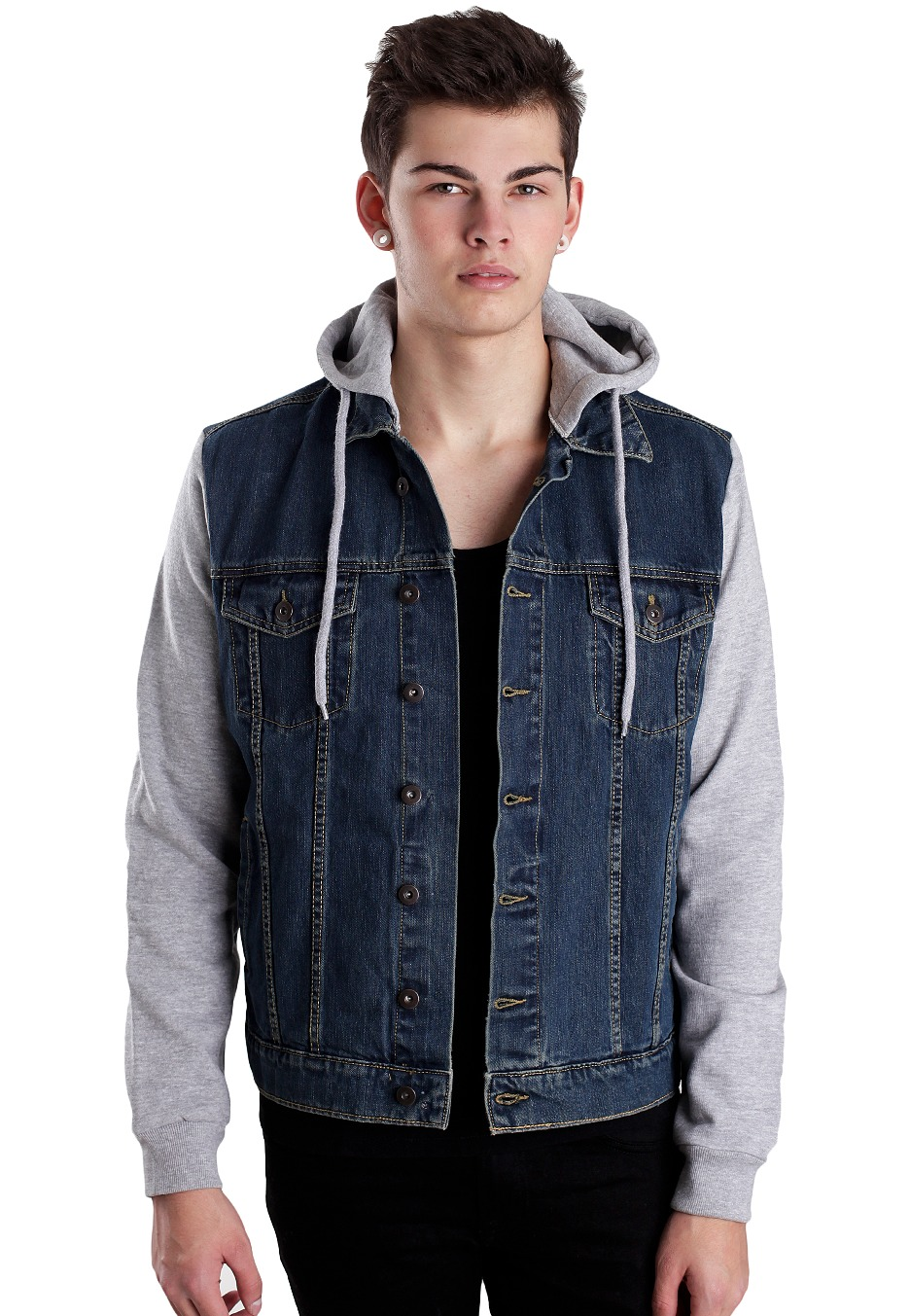 Find great deals on eBay for hooded denim jacket. Shop with confidence.