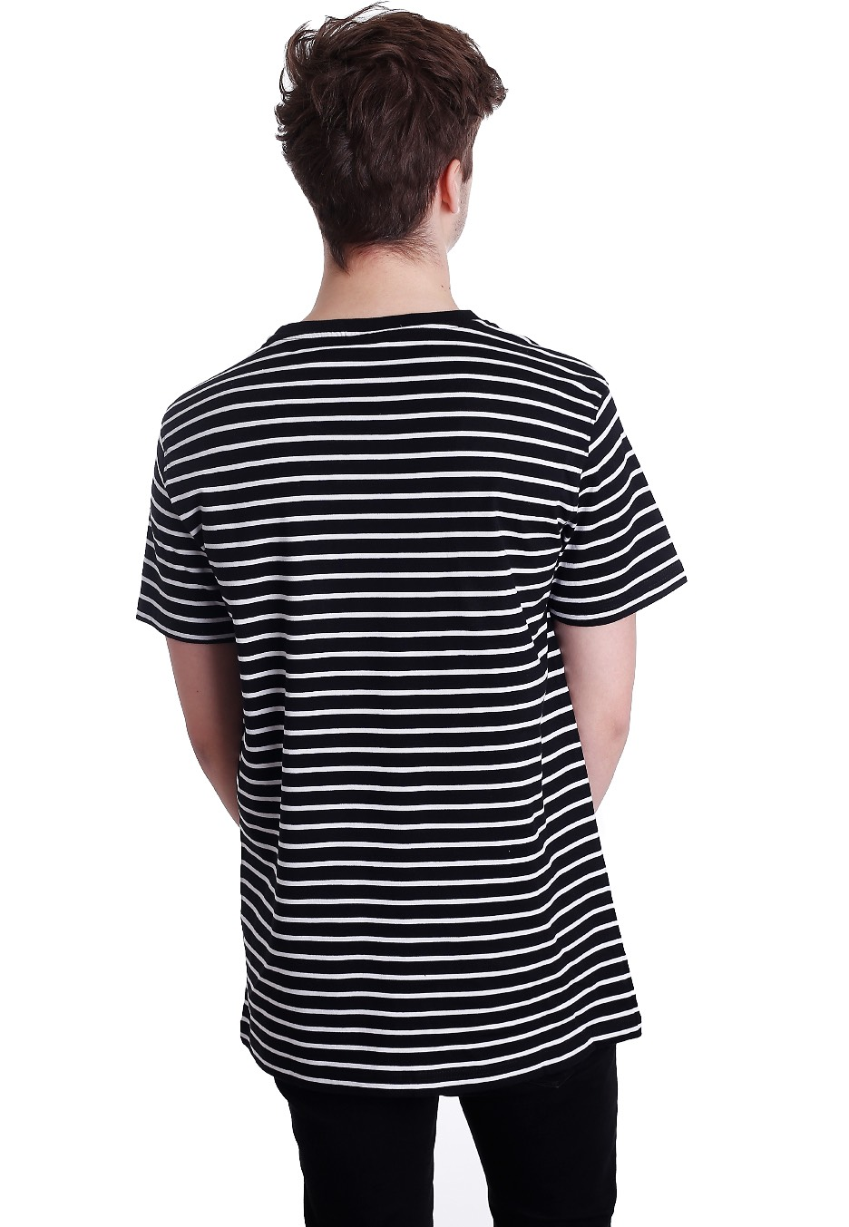urban classics striped black white t shirt. Black Bedroom Furniture Sets. Home Design Ideas
