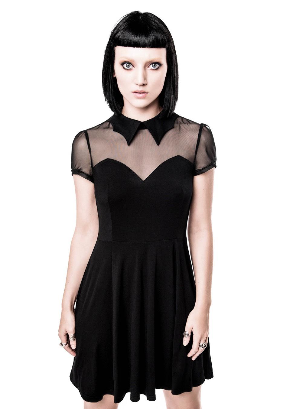 d201a6a27e Killstar - Vampyra Skater Black - Dress - Streetwear Shop - Impericon.com AU