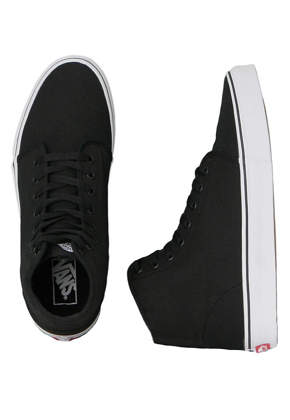 0d063126ca Vans - 106 Hi Black True White - Shoes - Impericon.com Worldwide