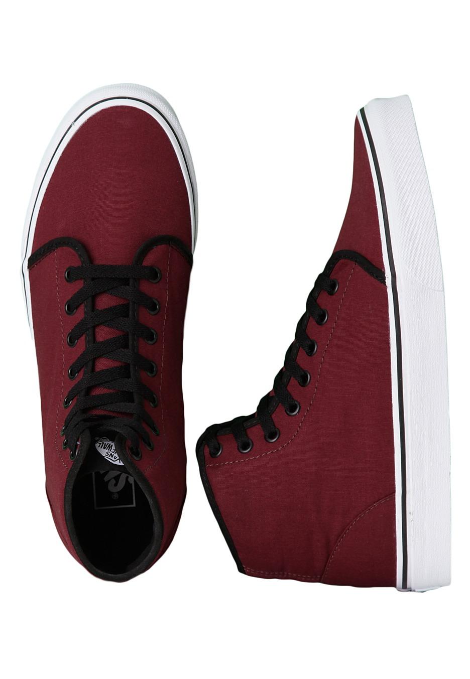 9cc8bf6cca0853 Vans - 106 Hi Port Royale Black - Shoes - Impericon.com UK