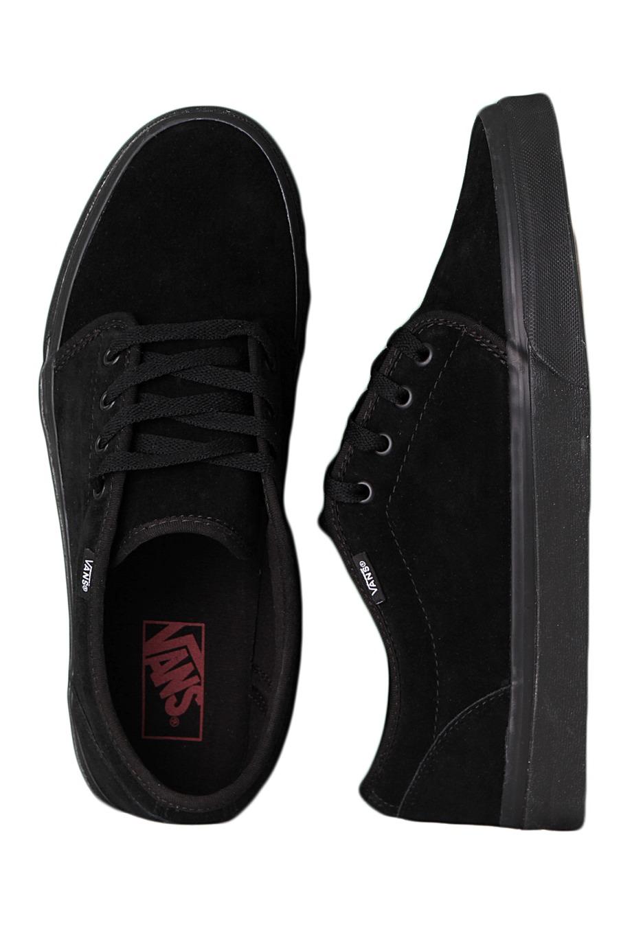 Vans - 106 Vulcanized Black Black - Shoes - Impericon.com UK aa424b196