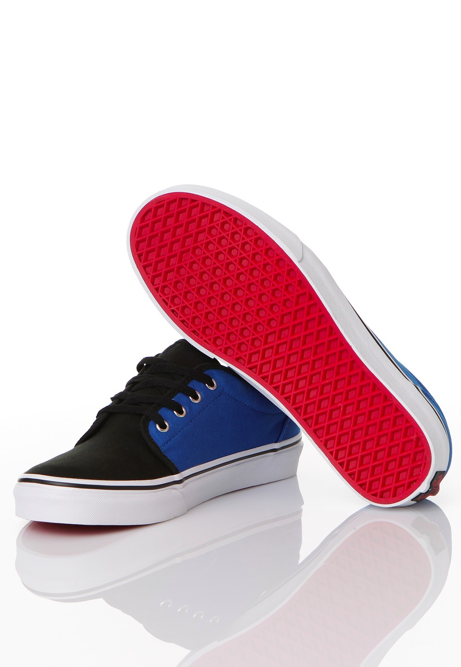 Vans - 106 Vulcanized Nautical Blue Black - Scarpe - Liveyourmusic ... 405a6acd1