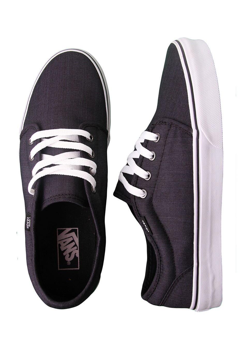 Vans - 106 Vulcanized Suiting Black - Shoes - Impericon.com Worldwide a84b635f0