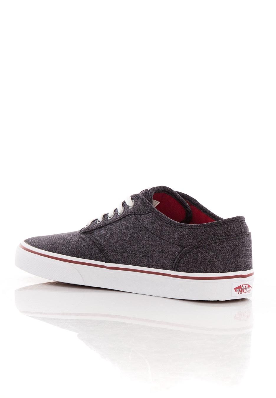 Vans - Atwood Black Red - Kengät - Impericon.com FI f209172bd30d