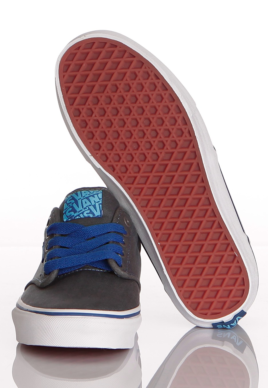 686d033e7dfe4e Vans - Atwood Grey Teal Blue - Girl Schuhe - Impericon.com AT