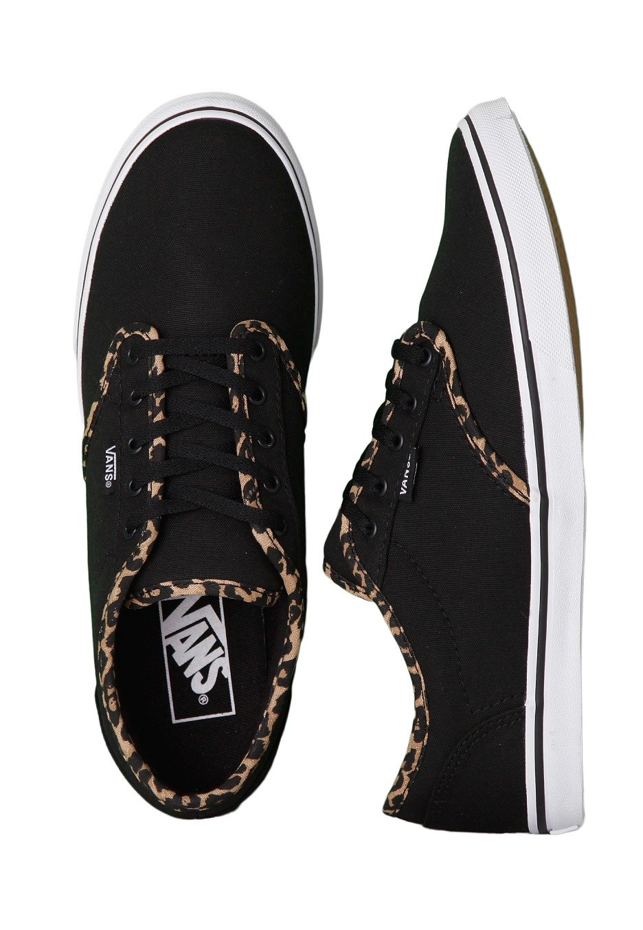 93c3c13e7a Vans - Atwood Low Cheetah Black White - Girl Shoes - Impericon.com UK