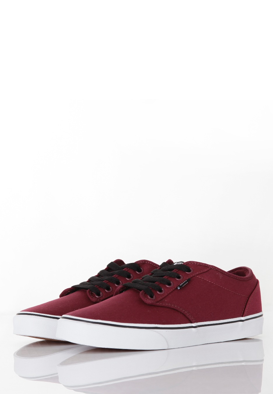 Vans - Atwood Canvas Oxblood/White - Shoes - Impericon.com UK