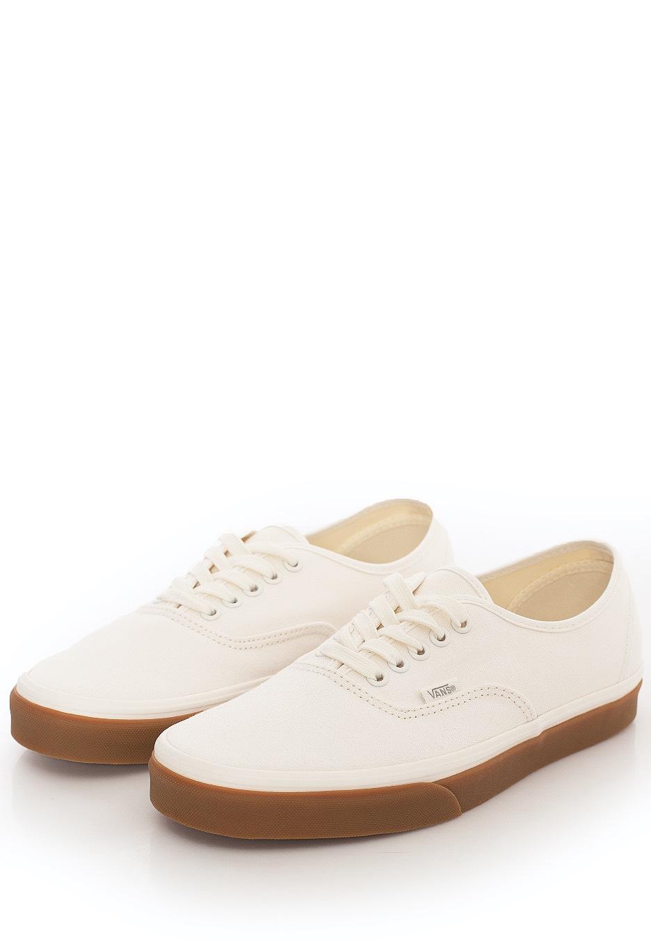 Vans - Authentic (12 Oz Canvas) Mrshmlw/Gum - Girl Shoes ...