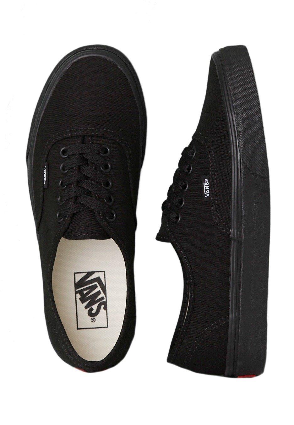Vans Authentic Blackblack Girl Shoes Impericoncom Au