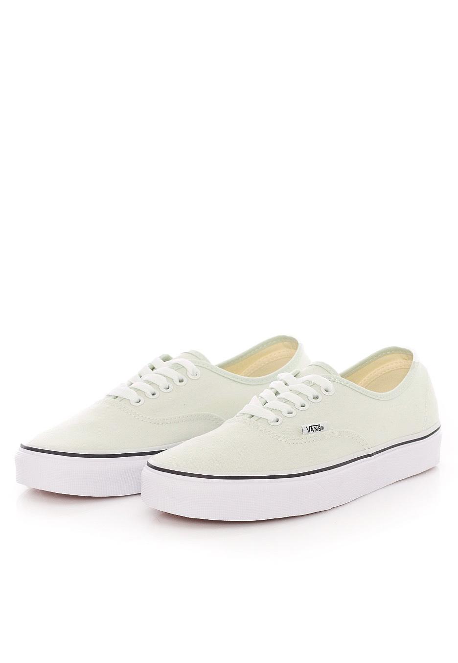 Vans Authentic Blue Flowertrue White Girl Shoes Impericon Us