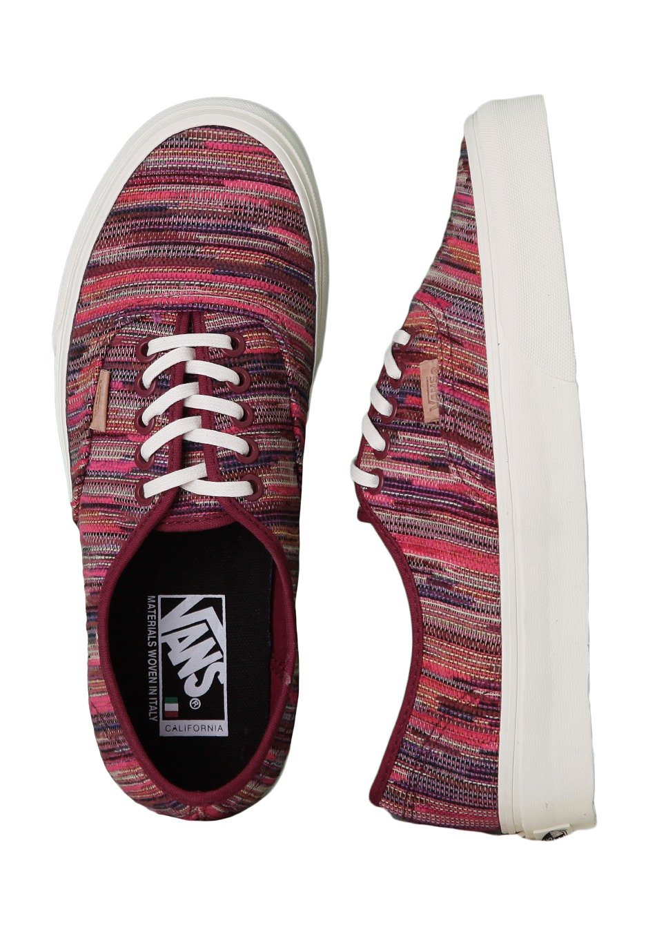 401ec4d086 Vans - Authentic CA Italian Weave Rhododendron - Girl Shoes - Impericon.com  Worldwide