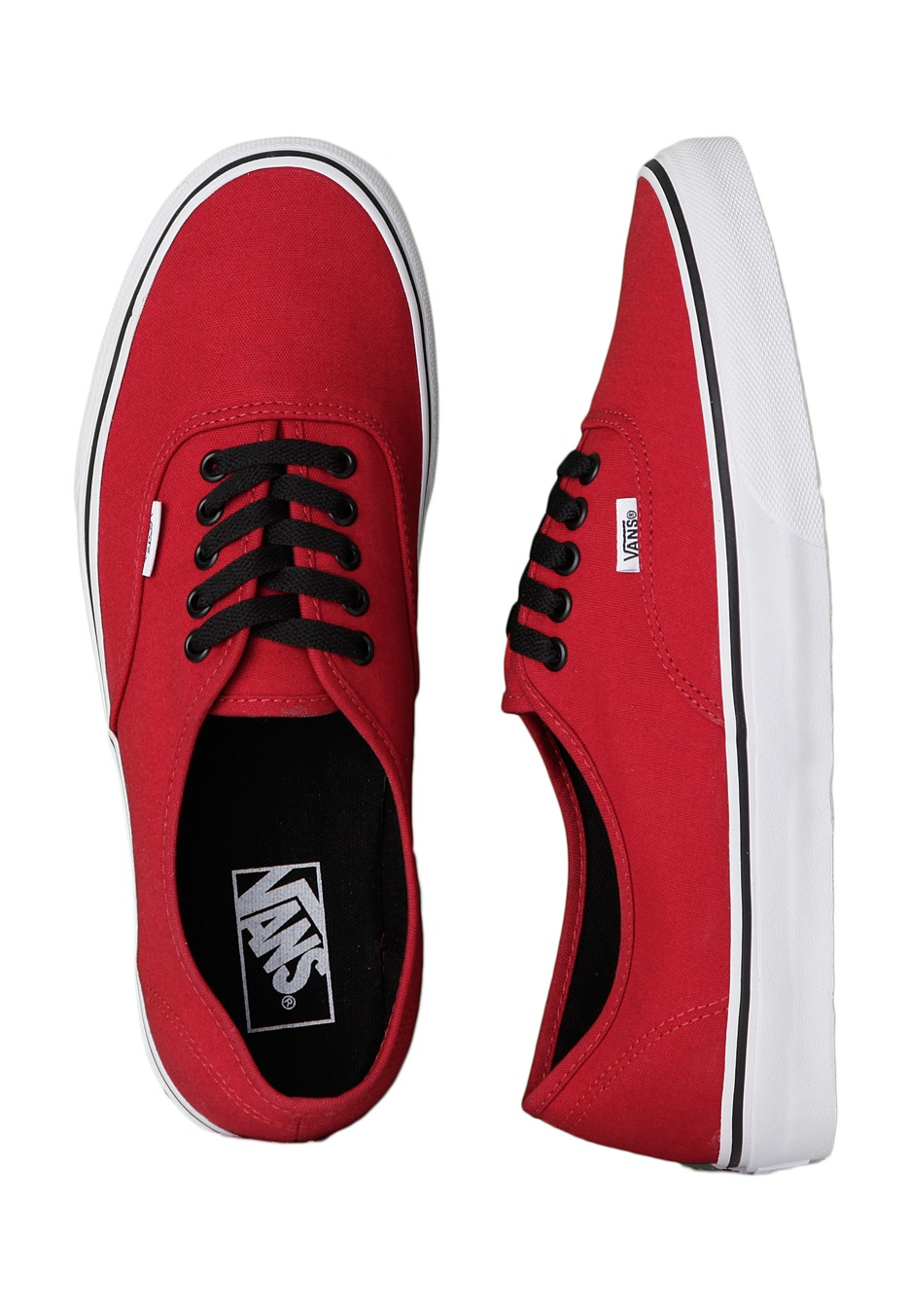 24e67e6d6f Vans - Authentic Chilli Pepper Black - Shoes - Impericon.com Worldwide