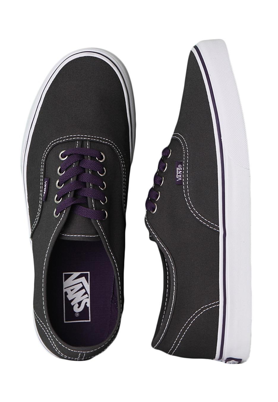 27a5c6c4ef Vans - Authentic Dark Shadow Gothic Grape - Shoes - Impericon.com UK