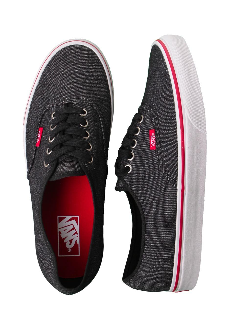 Vans - Authentic Denim Black True White - Shoes - Impericon.com UK 4428a2418
