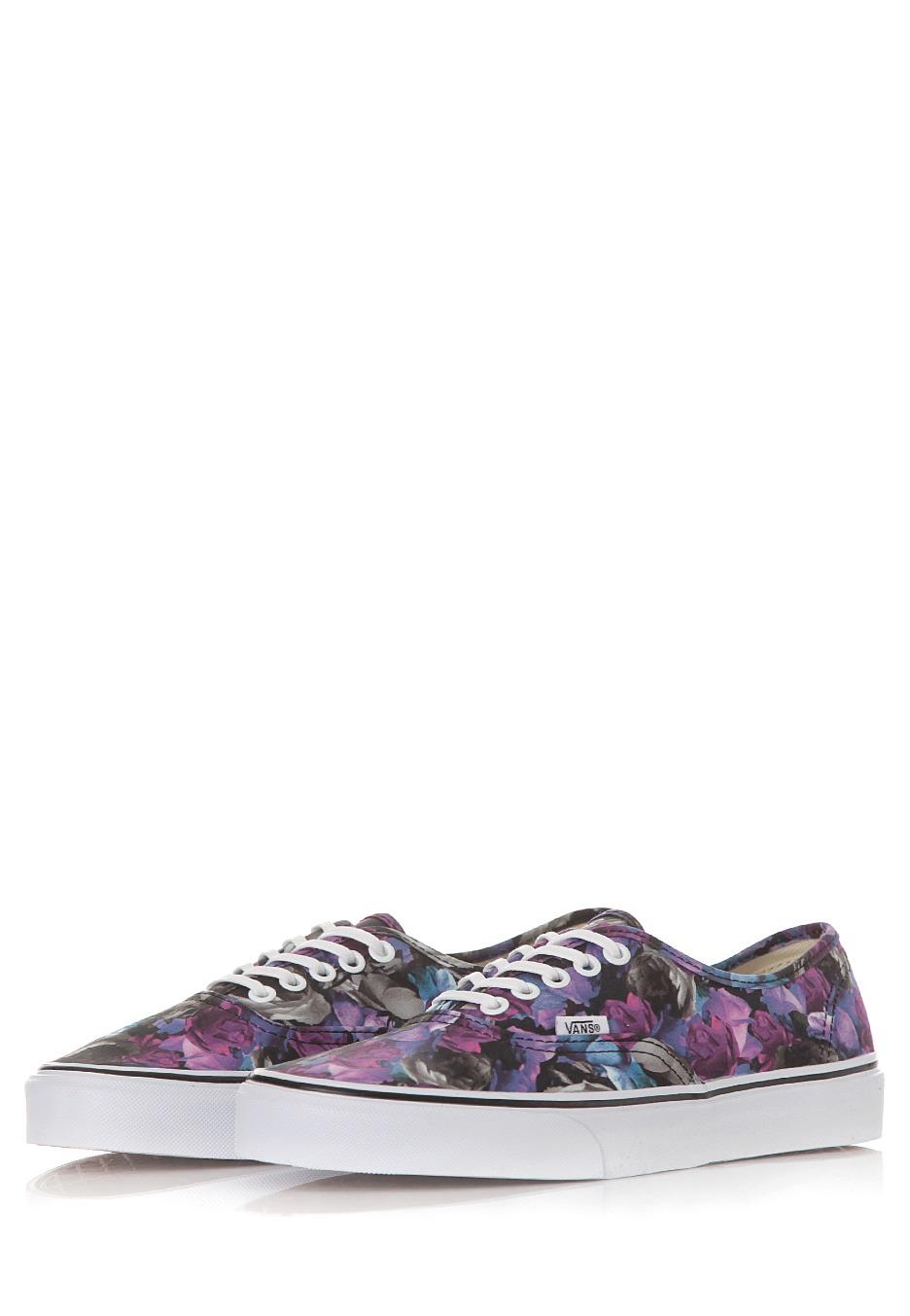 a83e969658 ... Vans - Authentic Digi Floral Multi True White - Girl Shoes ...