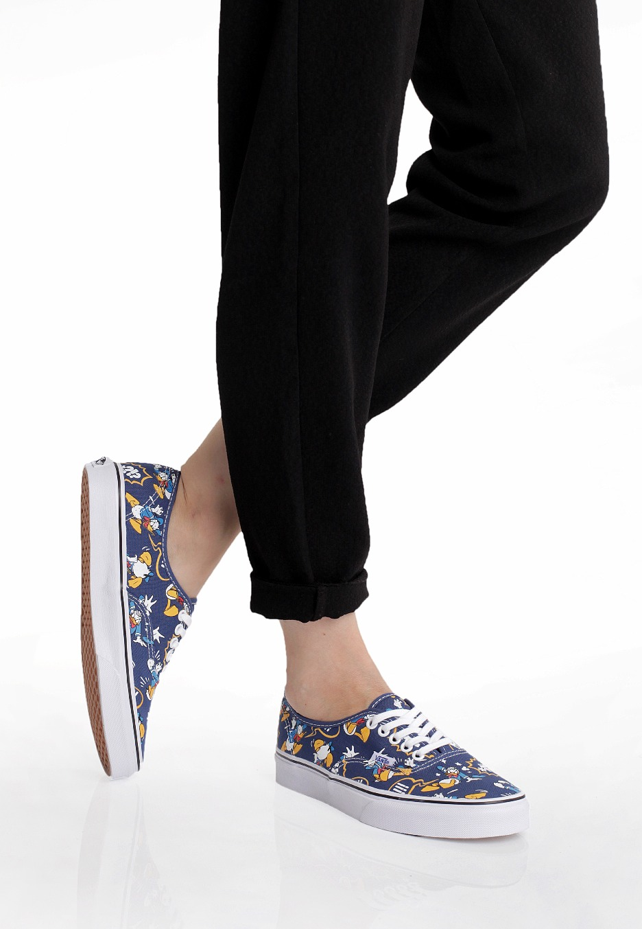 144a4f693a39 Vans - Authentic Donald Duck Navy - Girl Shoes - Impericon.com UK