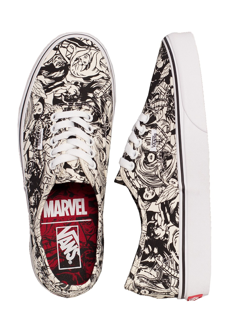 Vans x Marvel - Authentic Marvel Multi - Girl Shoes
