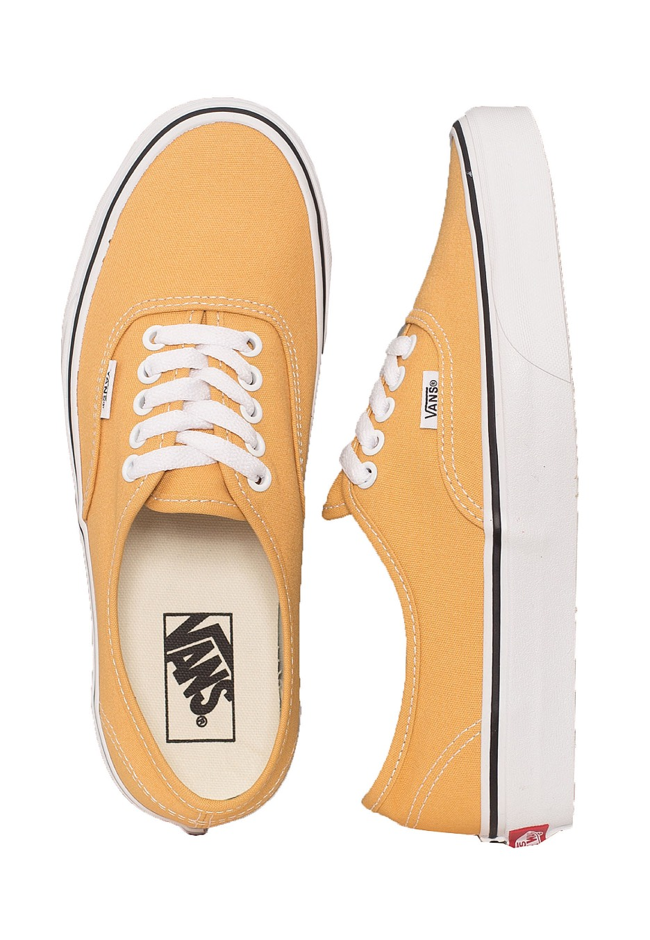 0a0c42dba46a Vans - Authentic Ochre True White - Girl Shoes - Impericon.com AU