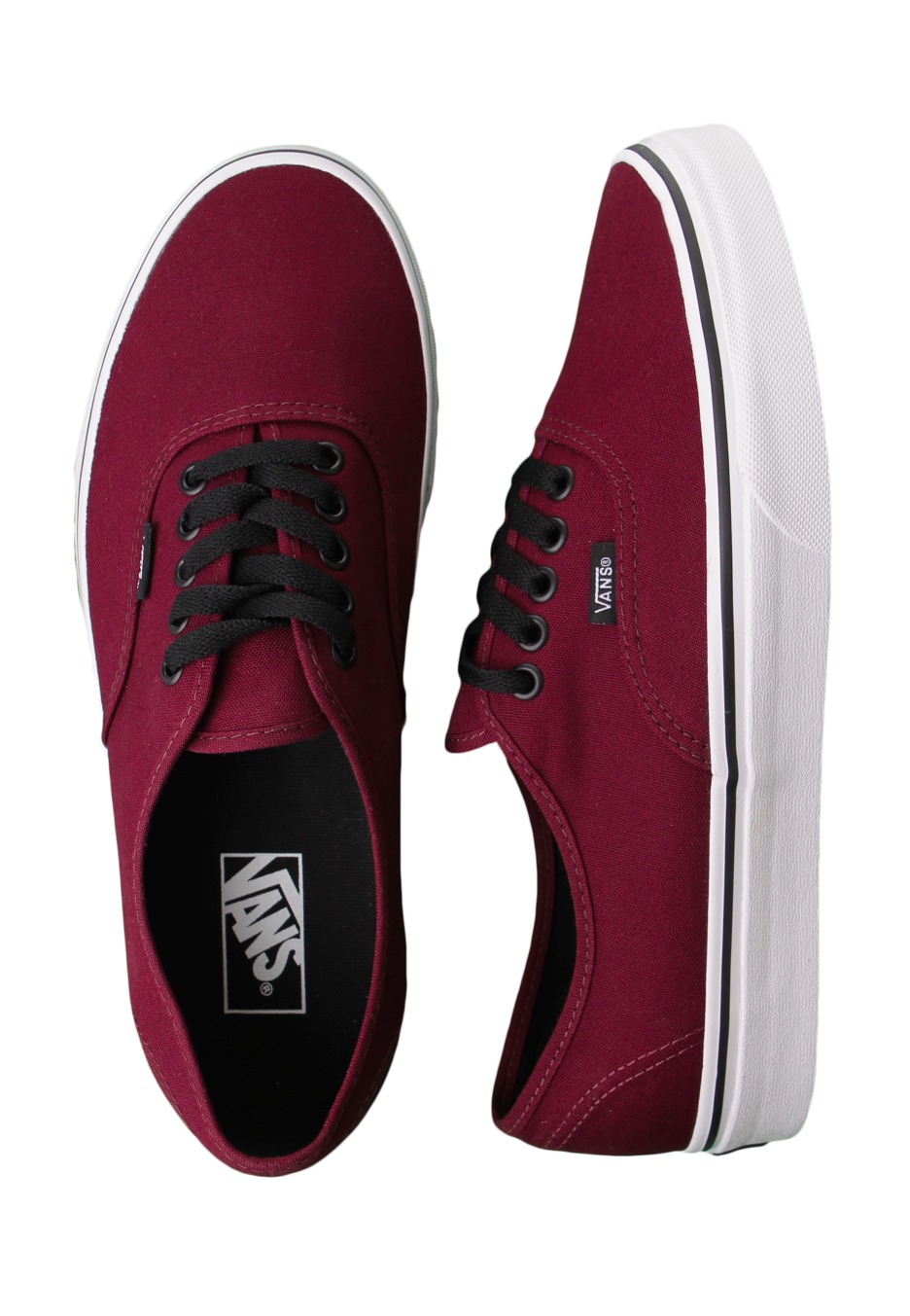 Vans - Authentic Port Royale Black - Shoes - Impericon.com UK 0489ec1d5