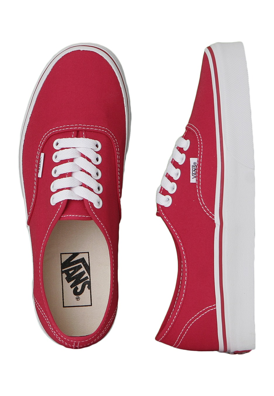 aabe66b30d Vans - Authentic Red - Girl Shoes - Impericon.com UK