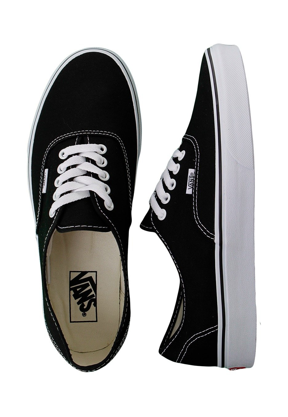 4e2989f64ed5 Vans - Authentic Black White - Shoes - Impericon.com UK