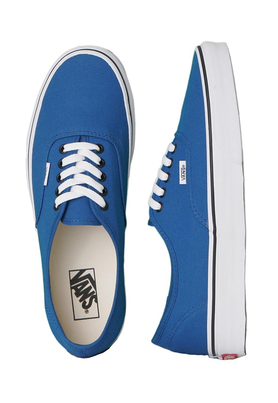 6a49412176 Vans - Authentic Snorkel Blue Black - Shoes - Impericon.com UK