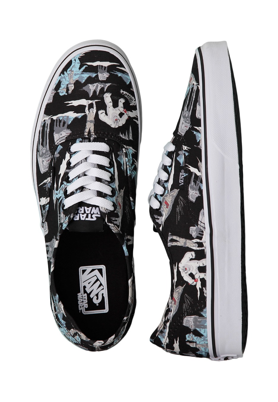 vans authentic star wars dark side black hoth girl schuhe streetwear shop at. Black Bedroom Furniture Sets. Home Design Ideas