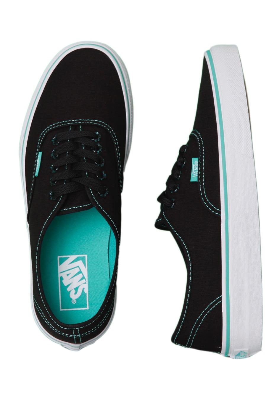 17bcece1119381 Vans - Authentic Tortoise Pop Black Pool Green - Girl Shoes - Impericon.com  UK