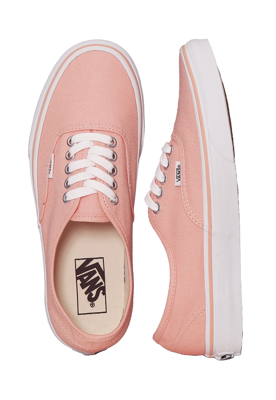 Vans - Authentic Tropical Peach/True White - Girl Shoes - Impericon.com  Worldwide