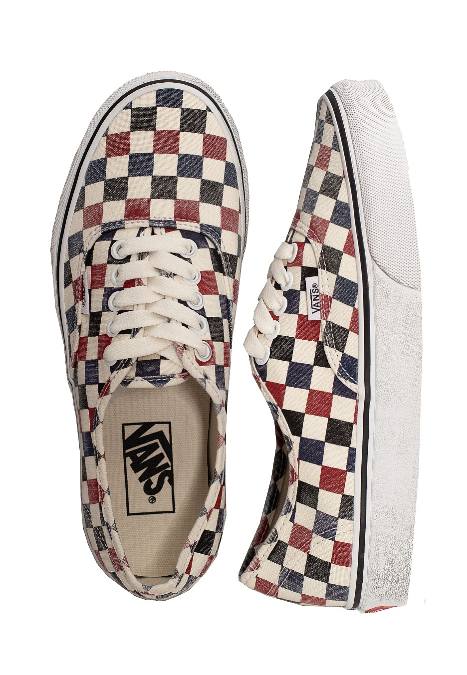 Vans - Authentic (Washed) Drsbls/CHL Pepper - Shoes - Impericon ...