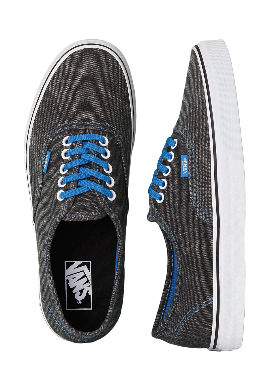 vans authentic washed