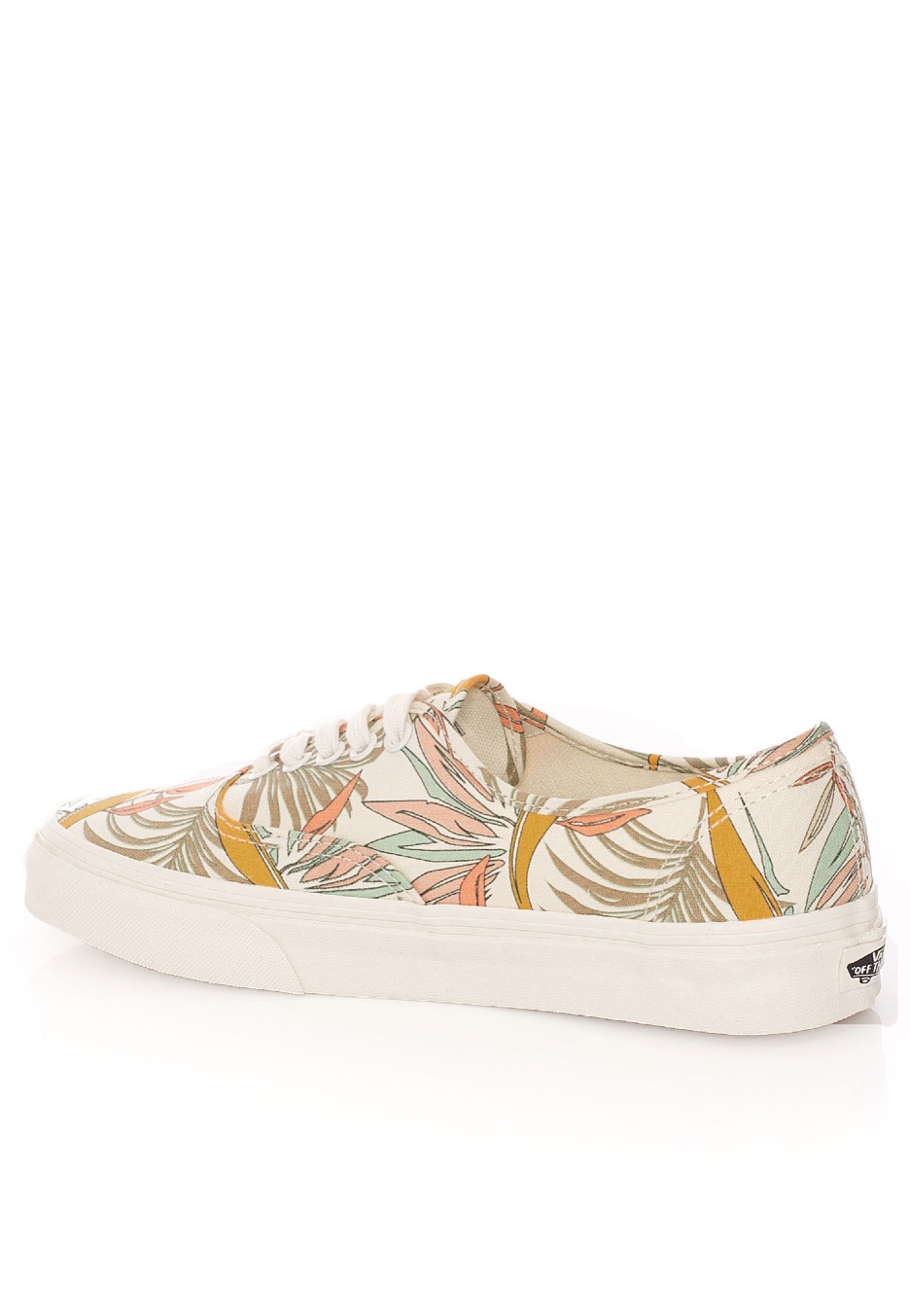 ... Vans - Authentic California Floral Marshmallow Marshmallow - Girl Shoes  ... 2f029b66e1