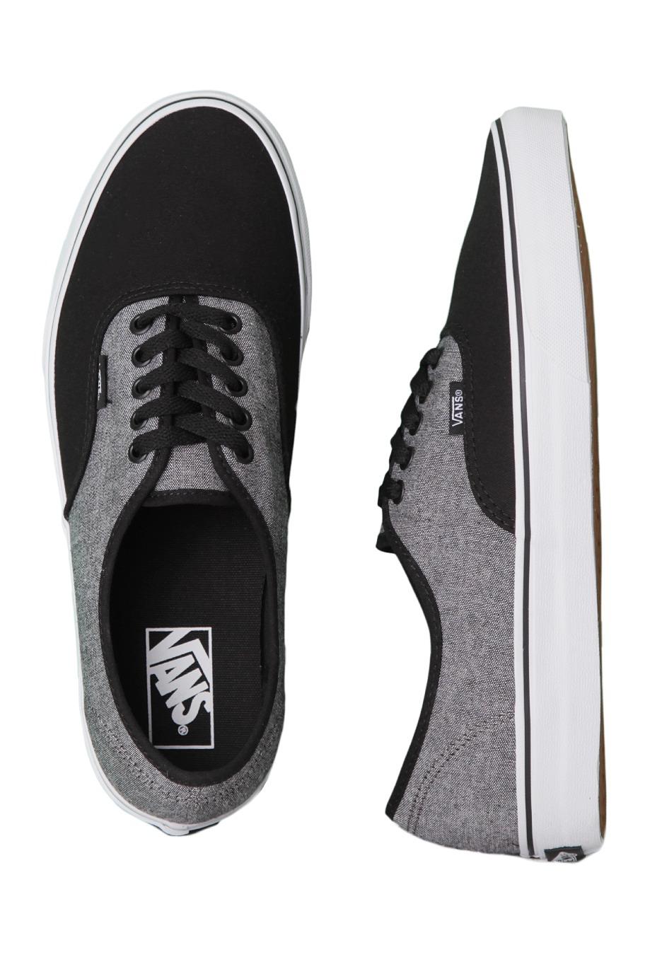 8d8b571f7f4 Vans - Authentic C C Black Pewter - Shoes - Impericon.com Worldwide