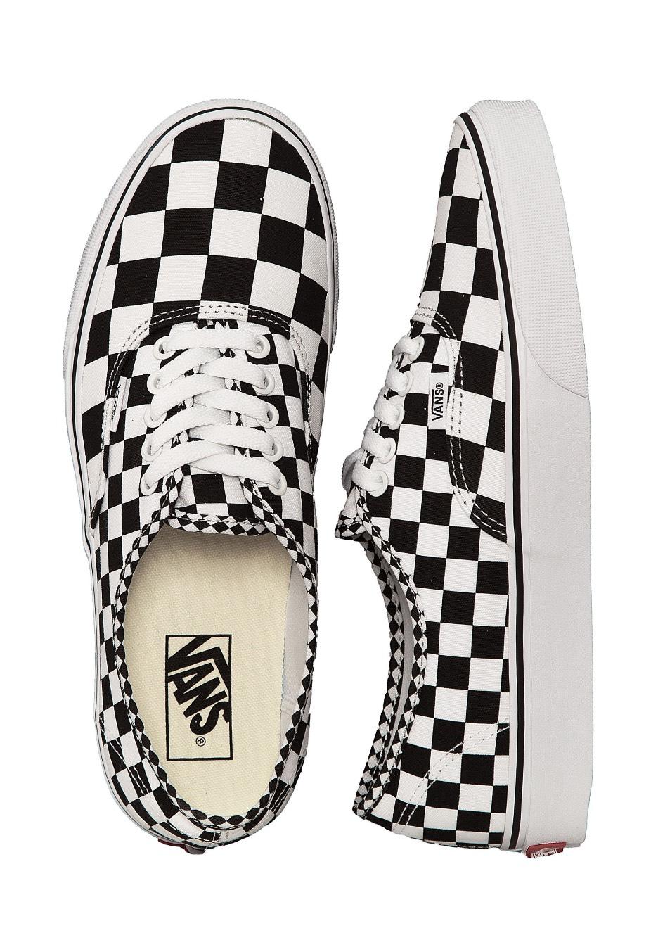 0ed48caf6c3 Vans - Authentic Mix Checker Black True White - Shoes - Impericon.com UK
