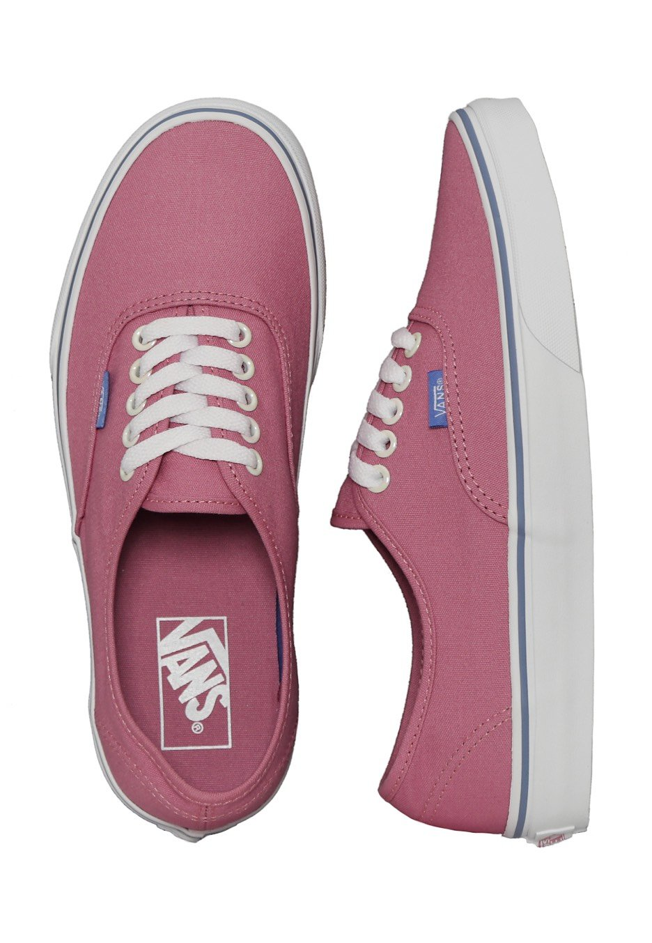f64f8d6065 Vans - Authentic Iridescent Eyelets Wild Rose - Girl Shoes - Impericon.com  UK