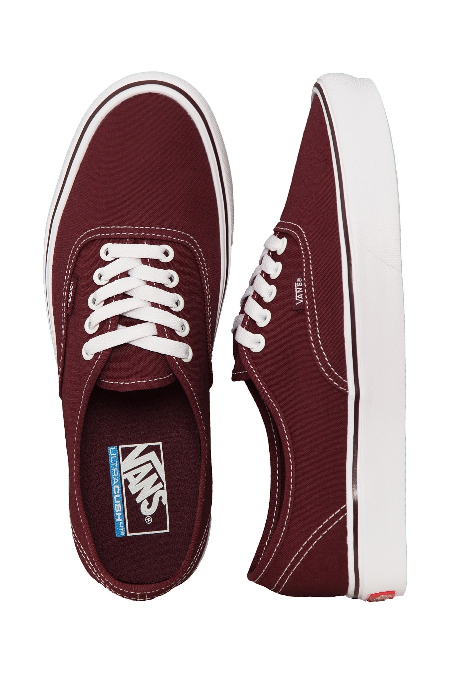 28b0107ca4 Vans - Authentic Lite Canvas Port Royale True White - Shoes - Impericon.com  UK