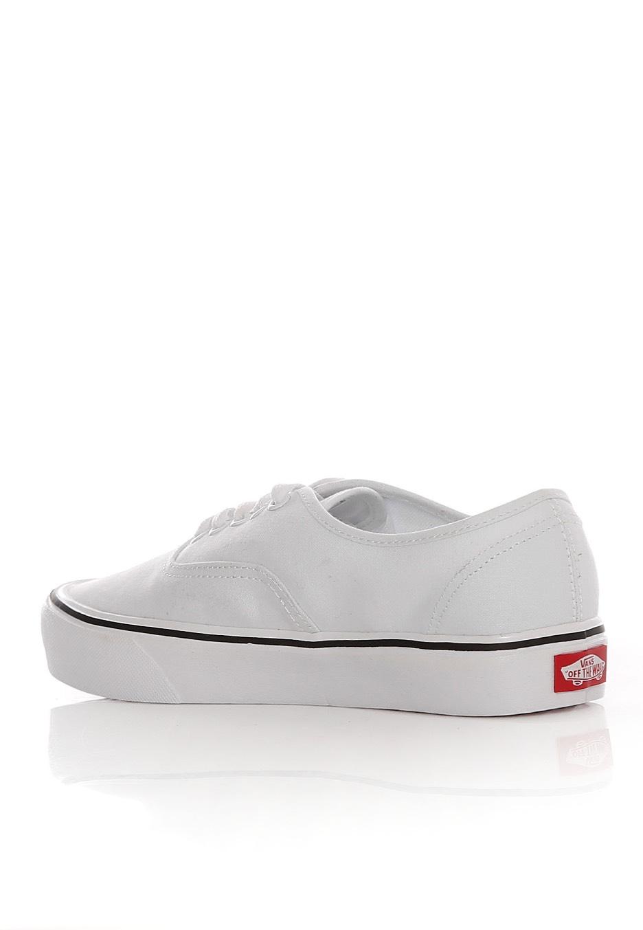 Vans - Authentic Lite Canvas True White