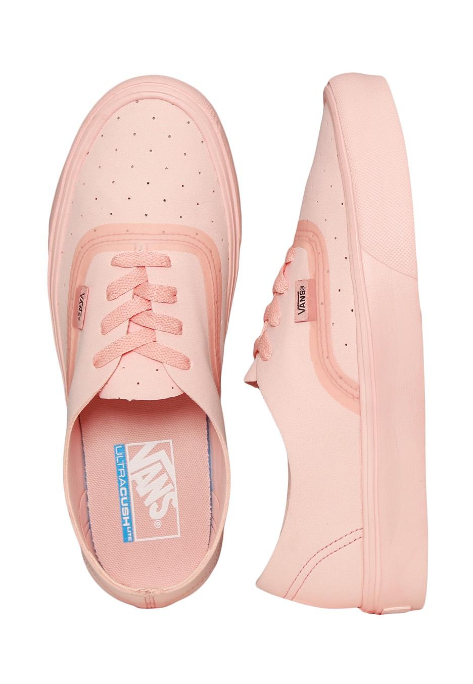7401d03b74 Vans - Authentic Lite Rapidweld Perf Tropical Peach Tropical Peach - Girl  Shoes - Impericon.com Worldwide
